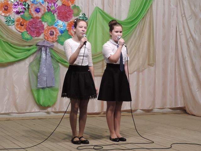 Жолобова Даша и Суханова Лиза