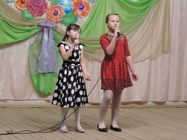 Тимошенко Ангелина и Клепцова Карина