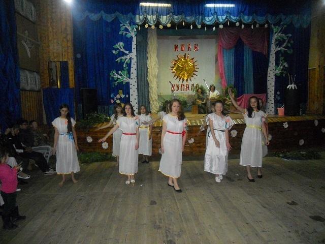 танец русалок