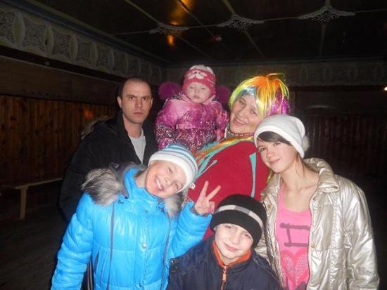 Бильдина В.В. и ее большая семья