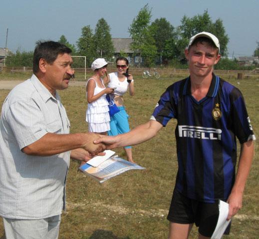 Никита Перминов - самый результативный игрок