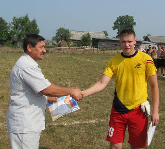 Иван Котельников - лучший вратарь
