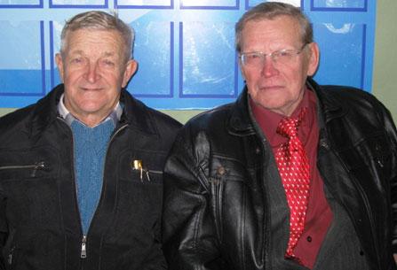 Анатолий Митрофанович Кравченко и Анатолий Андреевич Матвеев