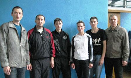 Команда поселка Маромица