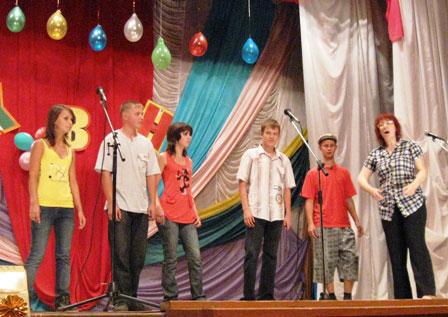 Команда поселка Заря