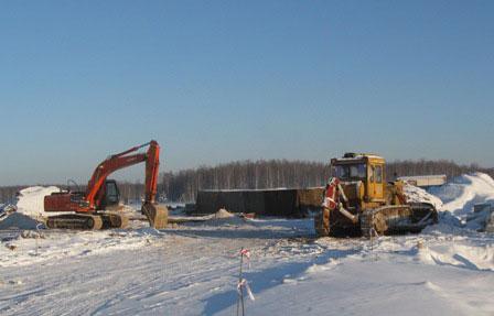 Строительство АЗС в поселке Опарино