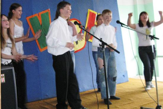 Школьный КВН