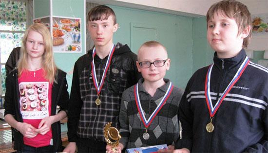 Победители по шашкам