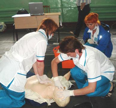Соревнования бригад скорой помощи