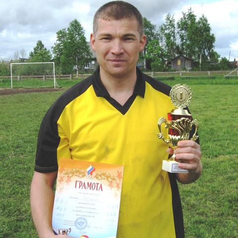 Футбол в Опарино. Эдуард Ширяев