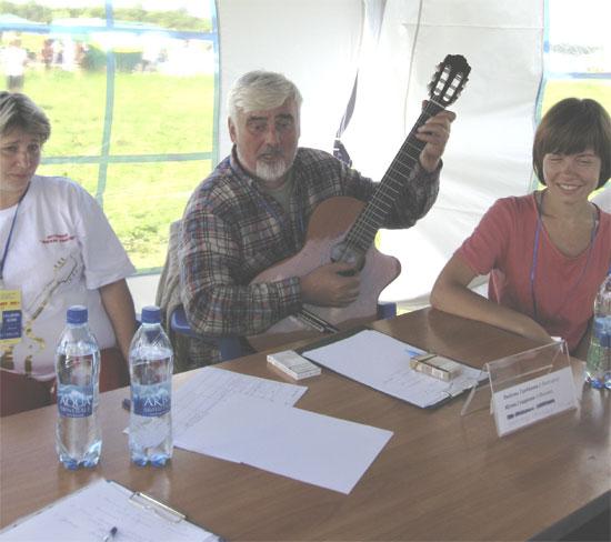 Фестиваль авторской песни Гринландия. А. Евстигнеев