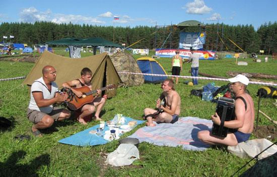 Фестиваль авторской песни Гринландия. Музыкальный спецназ.