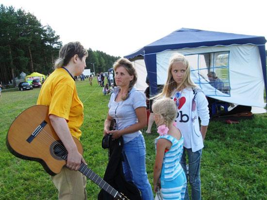 Фестиваль авторской песни Гринландия. Перед прослушиванием