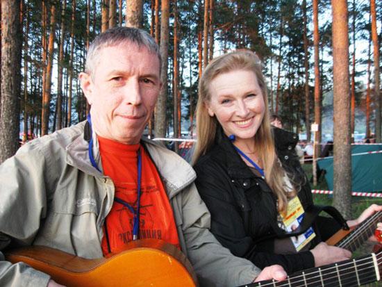Фестиваль авторской песни Гринландия. Тарасов и Хомчик