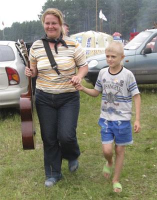 Фестиваль авторской песни Гринландия. Самый юный участник