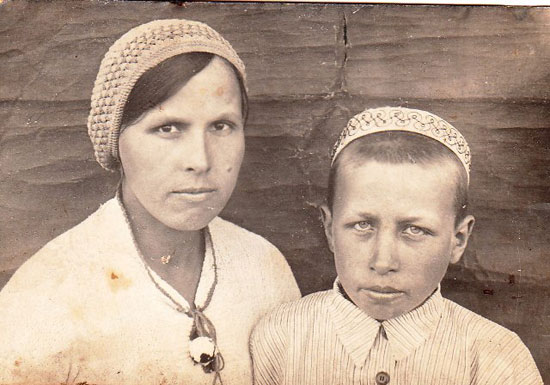 Месина Ольга с братом