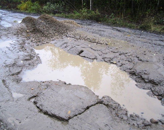 Дорога Заря-Альмеж