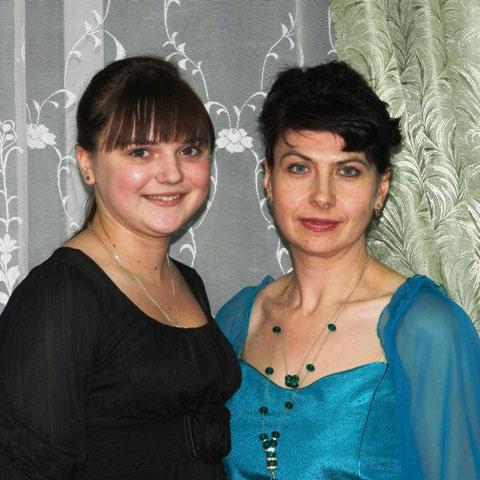 Анна Кузьменко и Наталья Смирнова