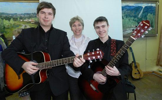 Наталья Халамова, «Гитара и мы»