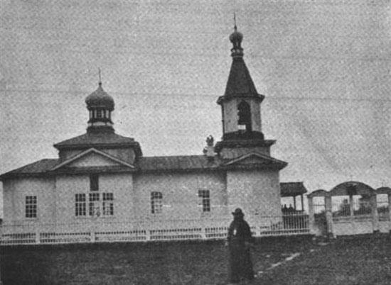 Церковь в селе Шадрино