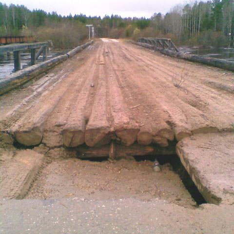 Мост через Молому