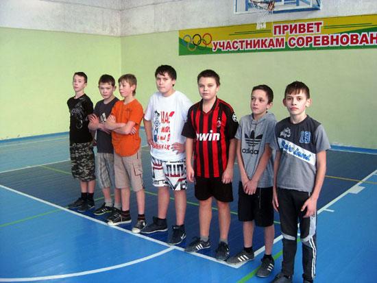 Команда Заринской средней школы
