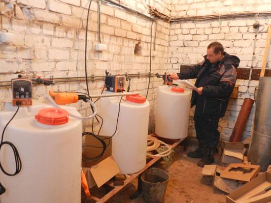Ремонт водоочистных сооружений