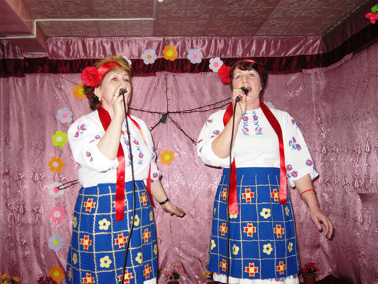 Зинаида Пупышева и Надежда Колосницына