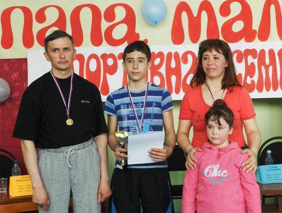 Семья Пономаревых