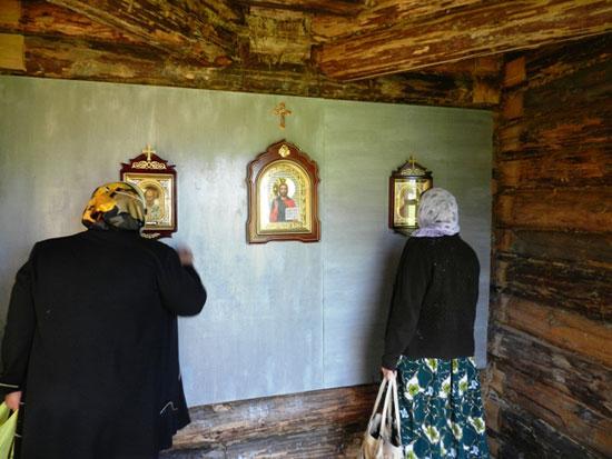 Часовня в селе Шабуры