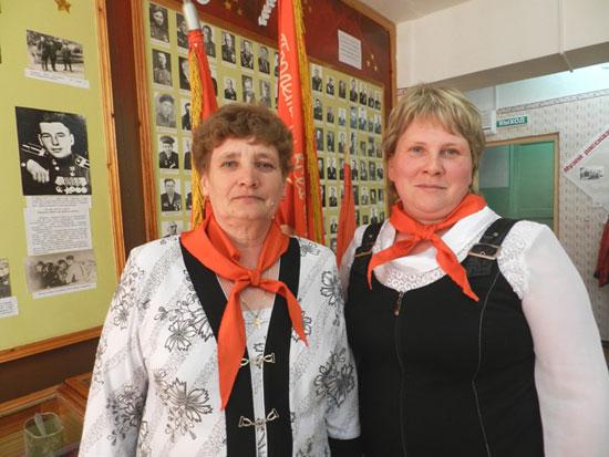 Татьяна Николаевна Шипицына и Тамара Алексеевна Нагибина