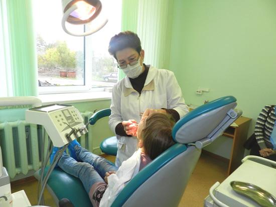 Стоматологический кабинета работой