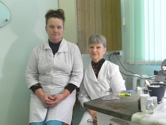 Людмила Сидоровна Дьячкова и Вера Николаевна Кондратюк