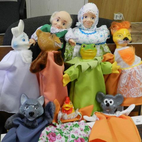 Куклы для театра