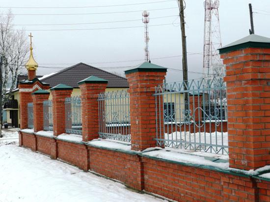 Открытие церкви