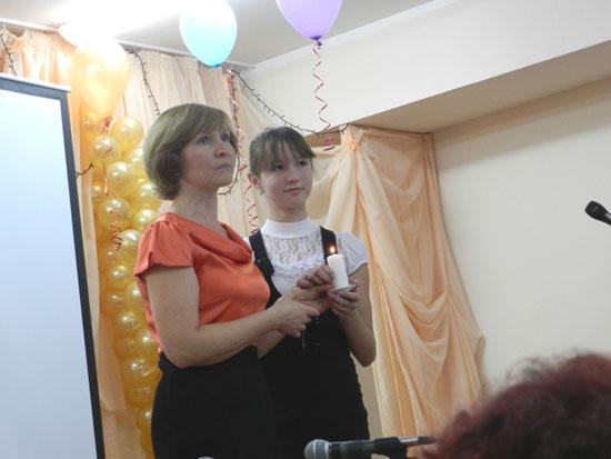 Оксана Сорокиной и ее мама