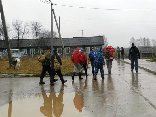 Поиски детей в поселке Речной