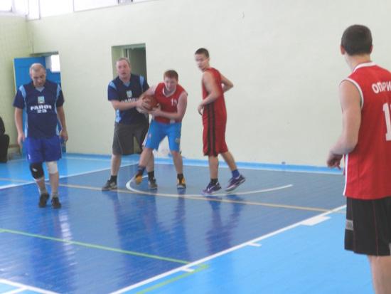 Межрайонный турнир по баскетболу