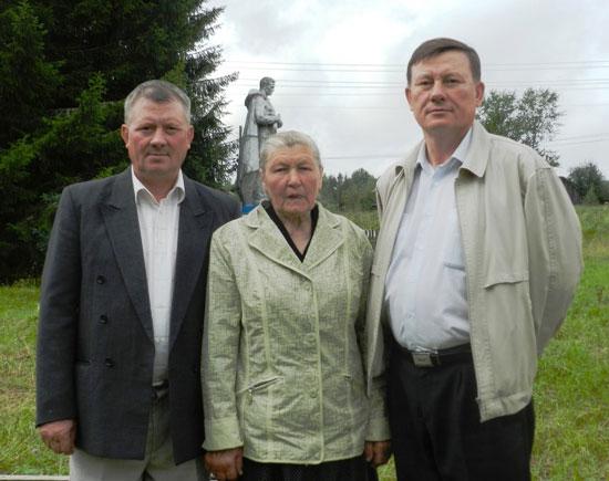 Н. В. Русанова с бывшими учениками