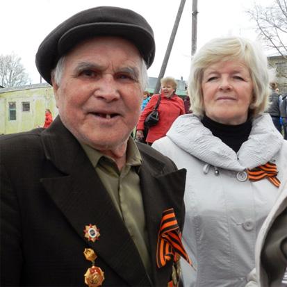 Ветераны поселка Опарино