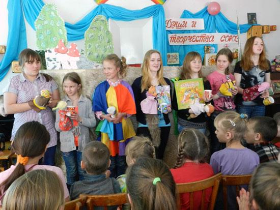 Неделя детской книги в библиотеке