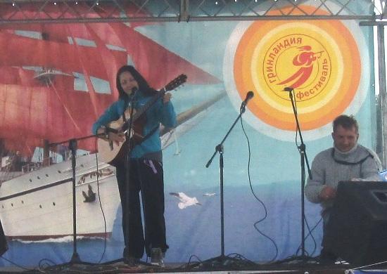 Диана Горбунова на малой сцене