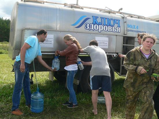 Бесплатная питьевая вода