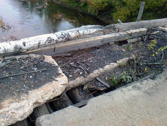 Мосты Опаринского района