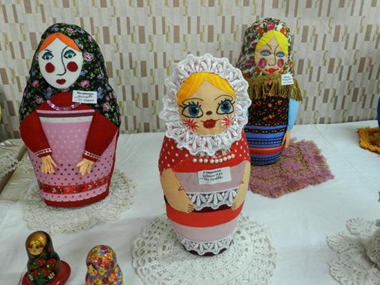 Праздник русской матрешки
