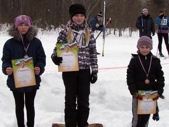 «Лыжня России» в Опарино