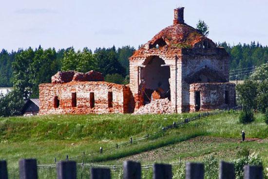 Церковь Успения Пресвятой Богородицы в селе Княжпогост
