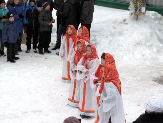 Проводы русской зимы в Маромице
