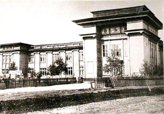 Здание Севжилдорлага в Княжпогосте