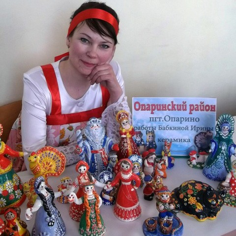 Ирина Бабкина в Котельниче